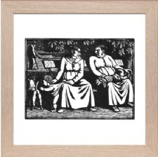 Scandal or Les Commeres or Maternity - Ready Framed